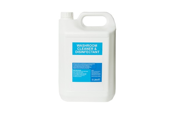 5ltr washroom cleaner and disinfectant