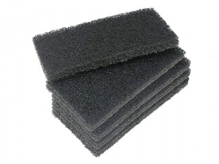 Black coarse utility hand pads
