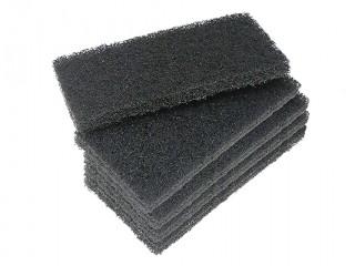 Black coarse utility hand pads