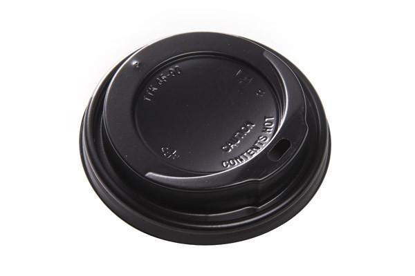 black coffee lids