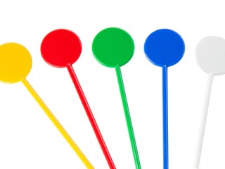 assorted disc stirrers
