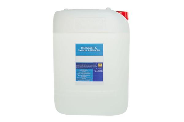 dishwash and tannin remover 25l