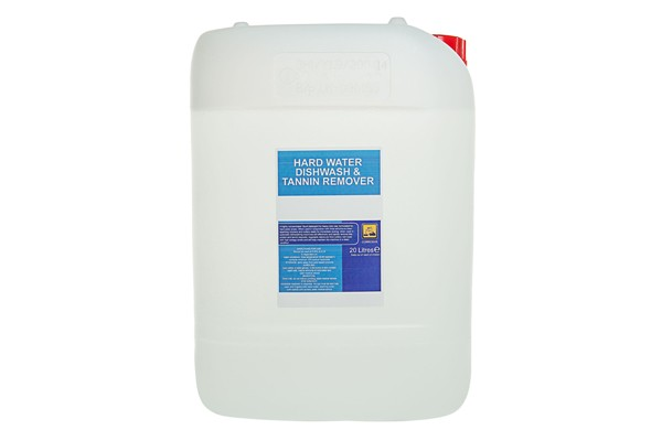 hardwater dishwash and tannin remover 20l