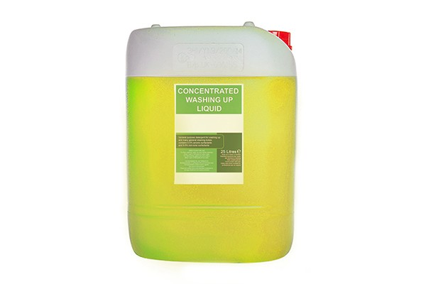 lemon concentrated washing up liquid 25l