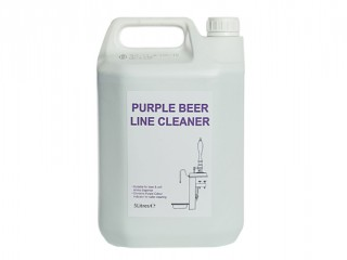 purple beer line cleaner