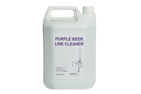 purple beer line cleaner