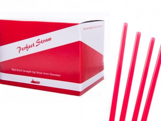 red sip straws 5 inch 3mm
