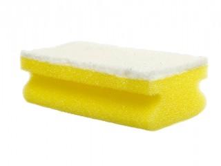 sponge scourer white non scratch