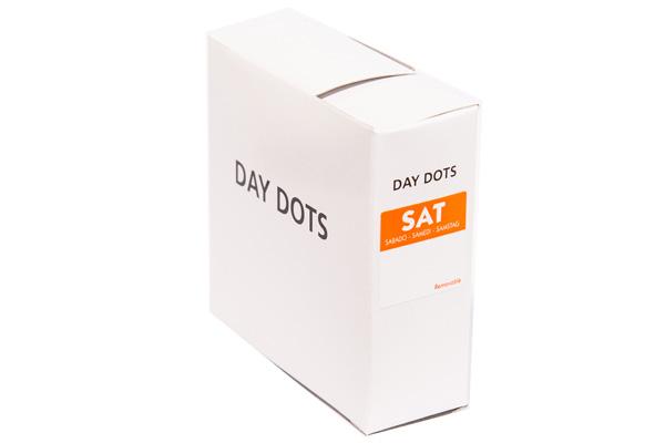 square day label saturday